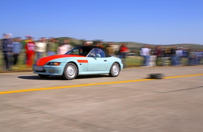 Laufendes Auto stockfotos
