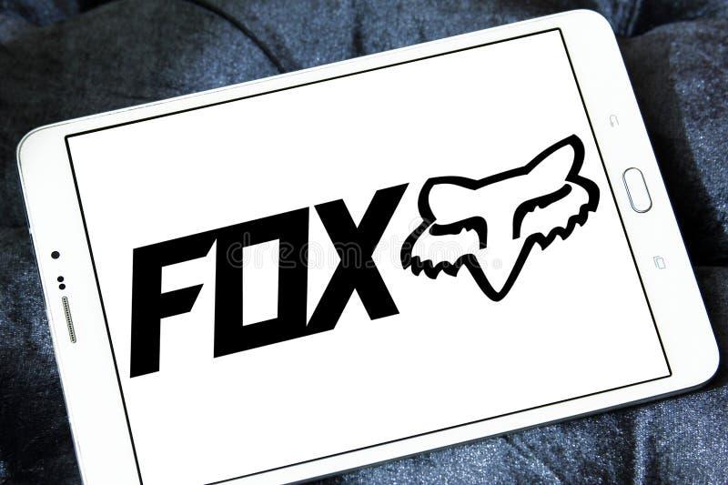 Laufendes Logo Fox Firmen stockbilder