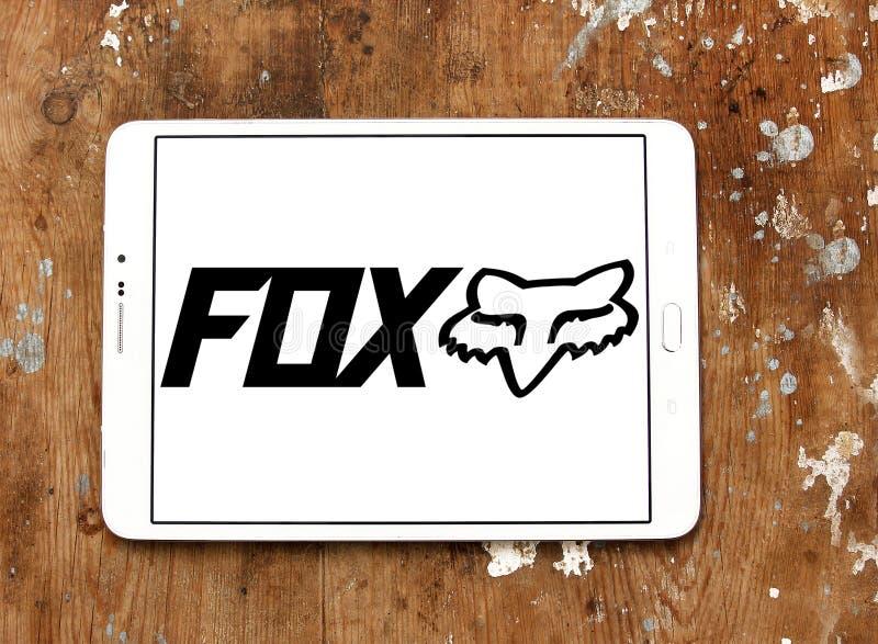 Laufendes Logo Fox Firmen stockfoto
