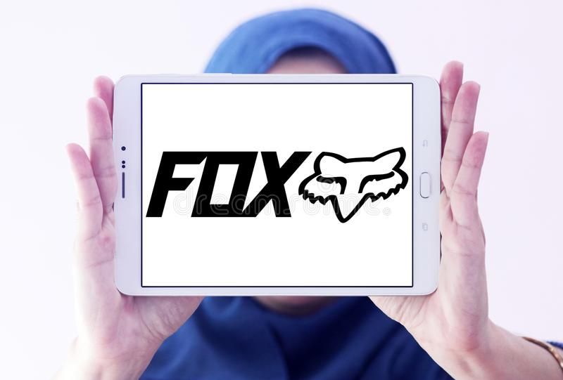 Laufendes Logo Fox Firmen lizenzfreies stockbild