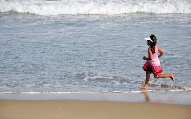 Laufendes Mädchen