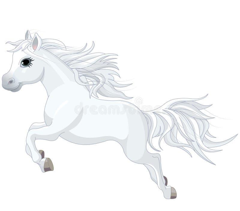 Laufendes Pferd vektor abbildung
