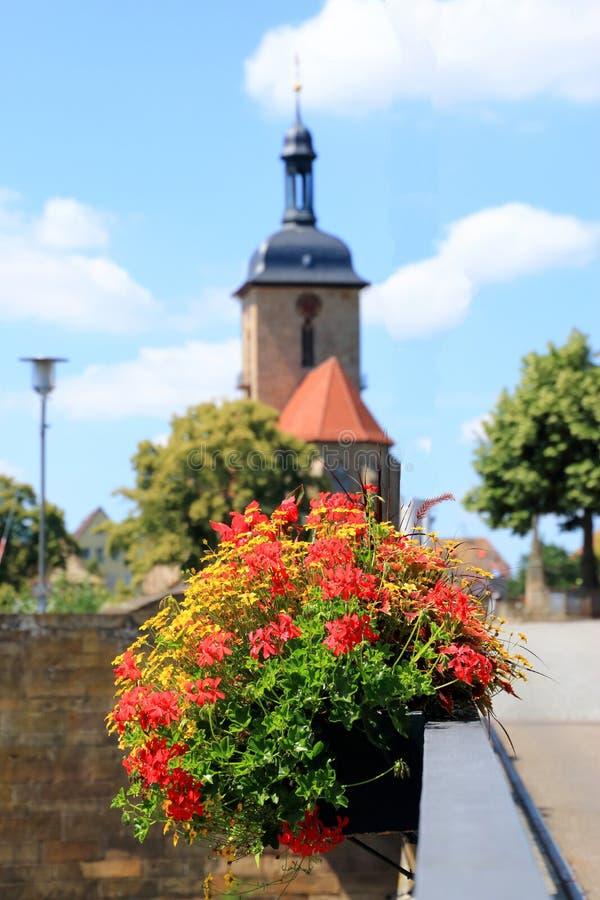 Lauffen am Neckar, Niemcy zdjęcie royalty free