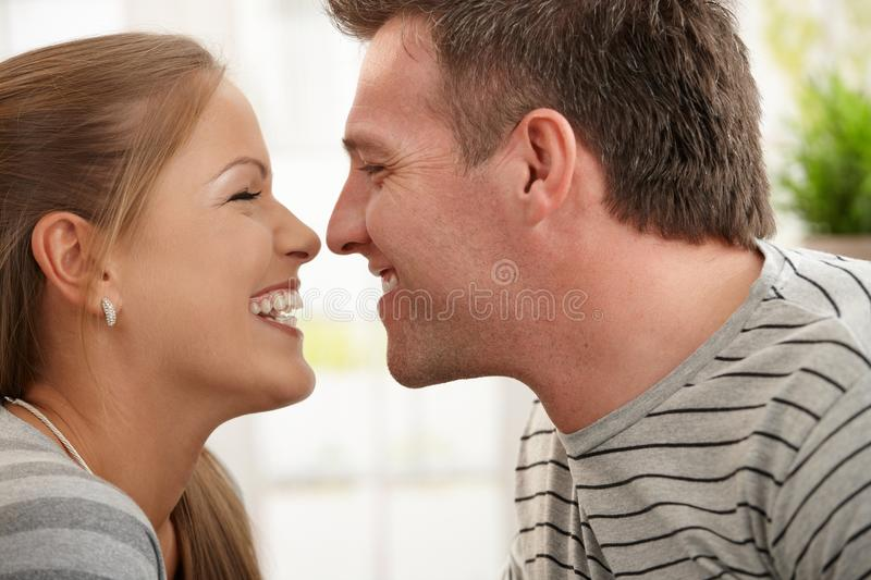Download Laughing couple stock image. Image of cheerful, aged - 19673923