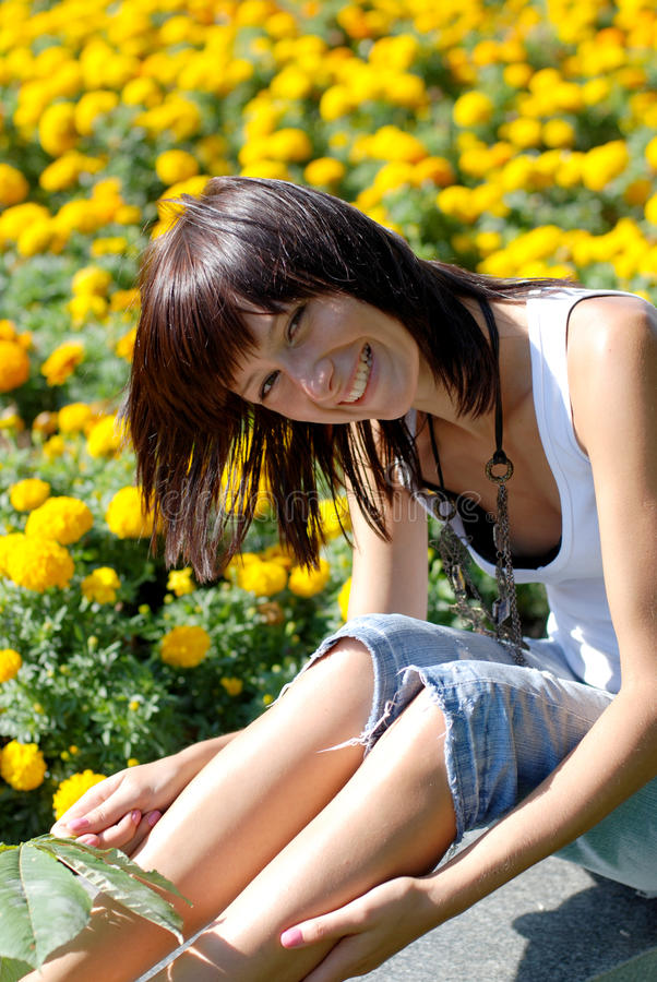 Download Laughing girl stock image. Image of attractive, human - 10704539