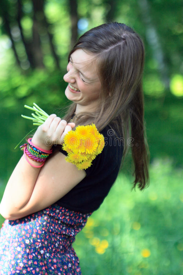 Download Laughing Girl stock image. Image of face, look, youth - 14476541