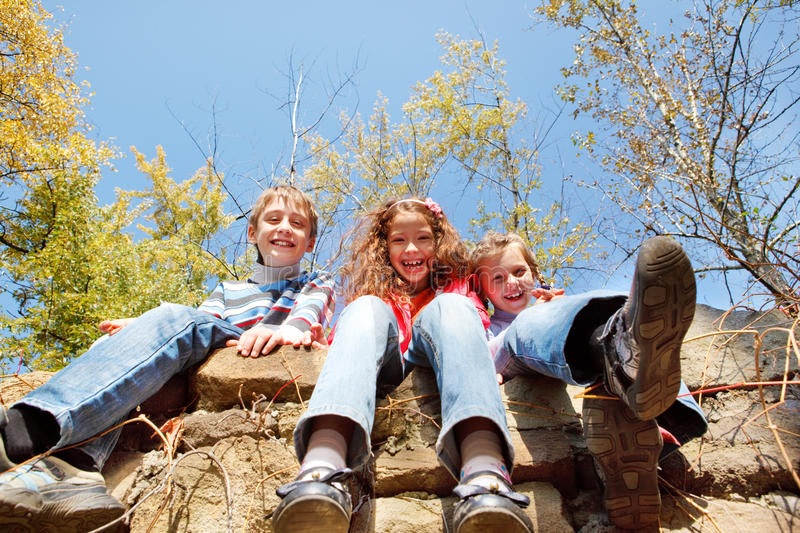 Download Laughing kids stock image. Image of happy, friends, boys - 21723347