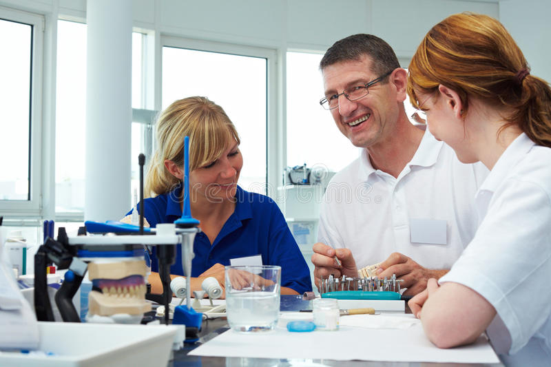 Laughing In A Lab Royalty Free Stock Photography