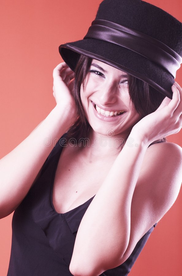 Laughing Teen royalty free stock photo