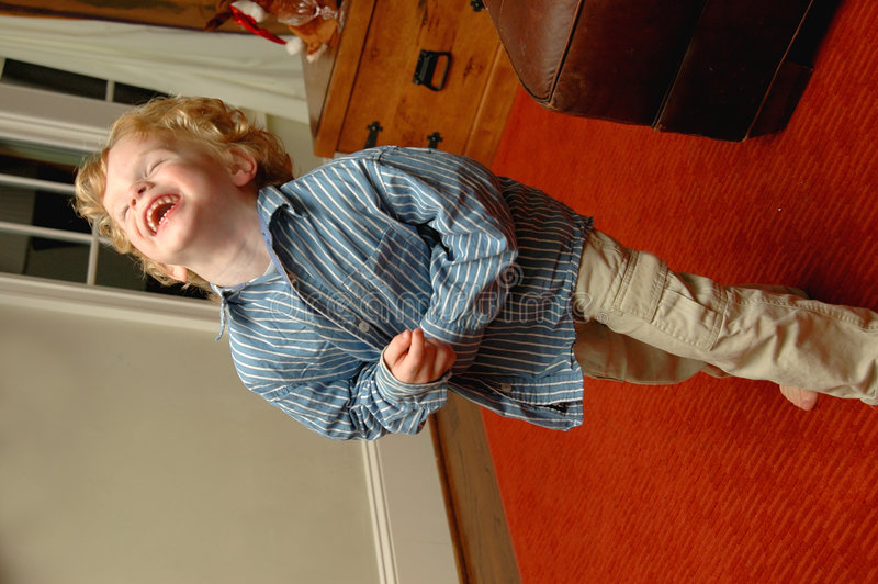 Download Laughing toddler stock image. Image of smile, giggle, expressive - 1651587