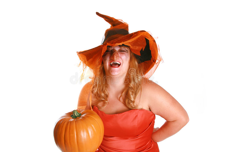 Download Laughing witch stock photo. Image of person, creepy, female - 3443436
