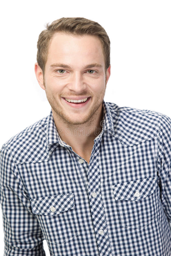 Download Laughing young man stock photo. Image of happy, looking - 35690356