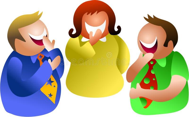 Download Laughterarbete stock illustrationer. Illustration av gemenskap - 984628
