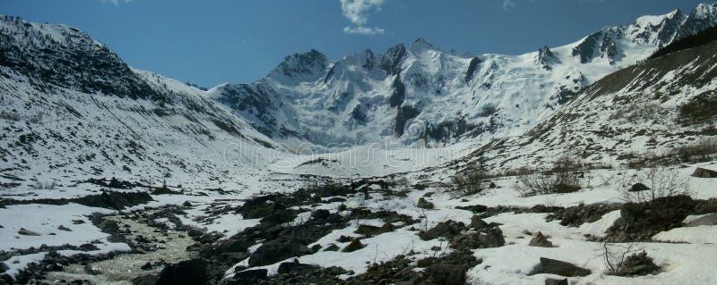 Laughton冰川 库存图片