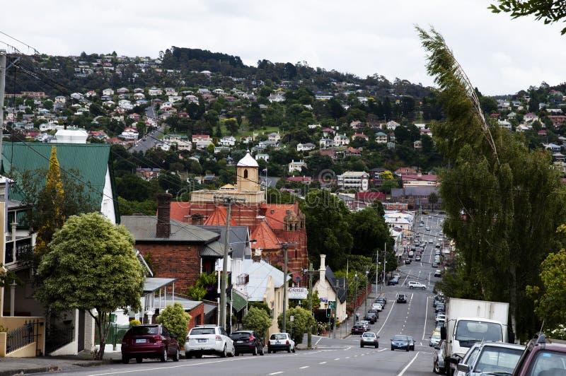 Launceston - la Tasmanie photo libre de droits