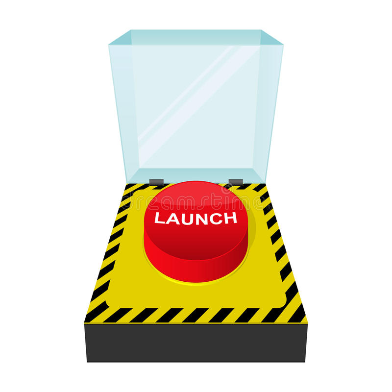 Download Launch button icon stock vector. Image of interface, attack - 21488887