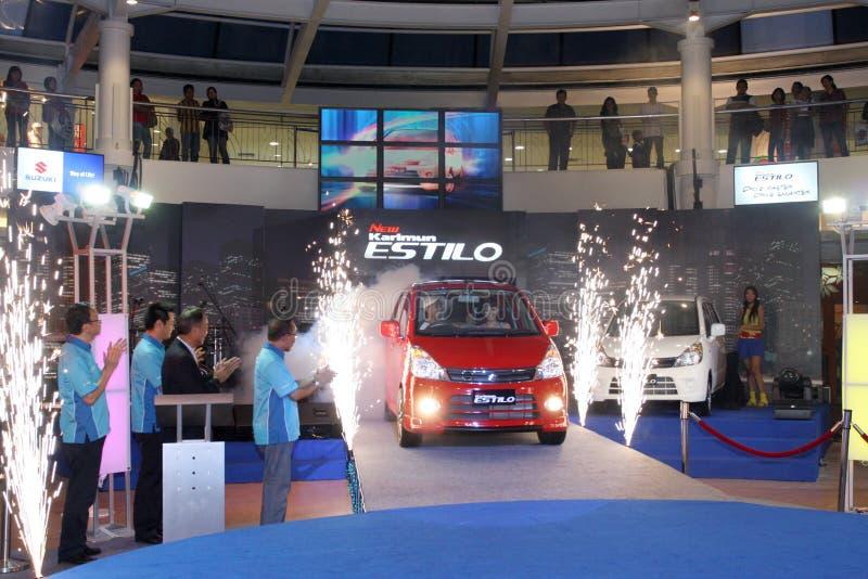 Launching of New Suzuki Karimun Estilo stock images