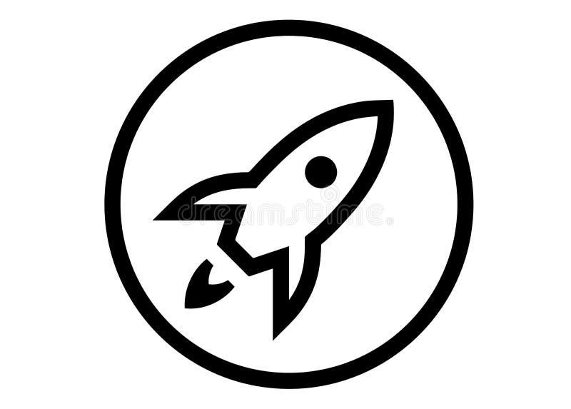 Launchpad jabłka logo royalty ilustracja