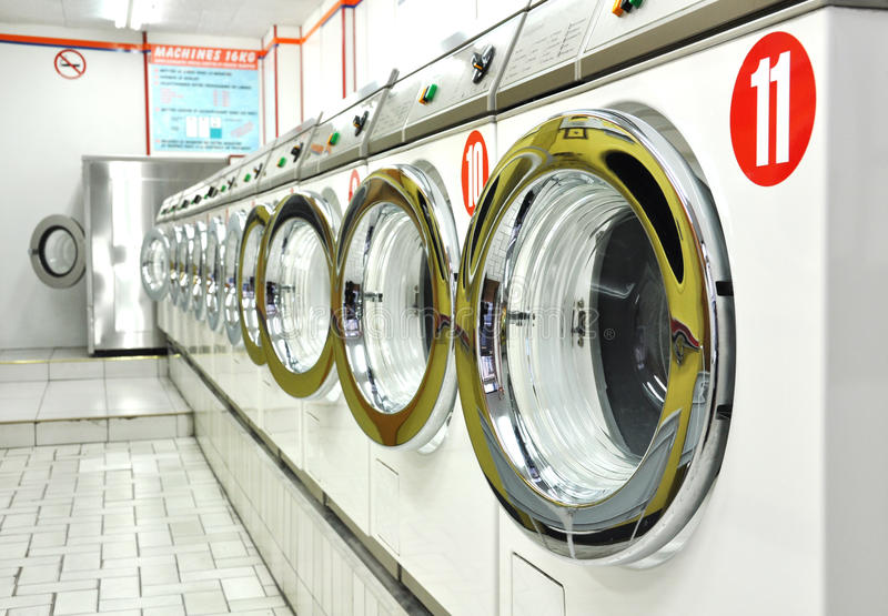 Download A Laundrette Royalty Free Stock Photos - Image: 20327868