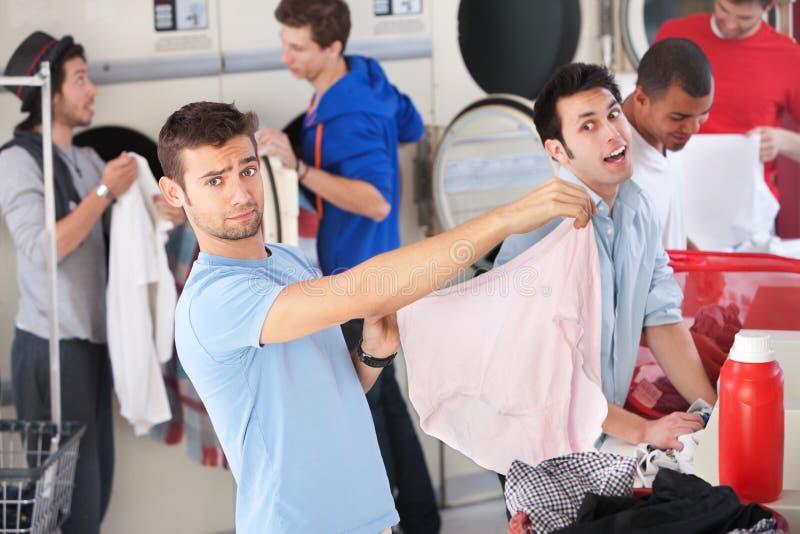 laundromat εσώρουχο λανθασμένο στοκ εικόνα με δικαίωμα ελεύθερης χρήσης