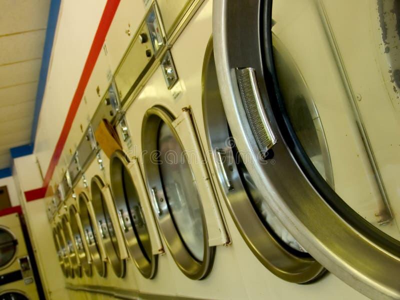 Laundromat royalty-vrije stock foto's