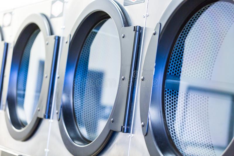 laundromat imagens de stock