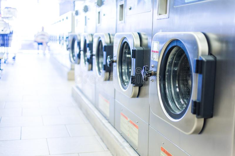 laundromat fotografia de stock