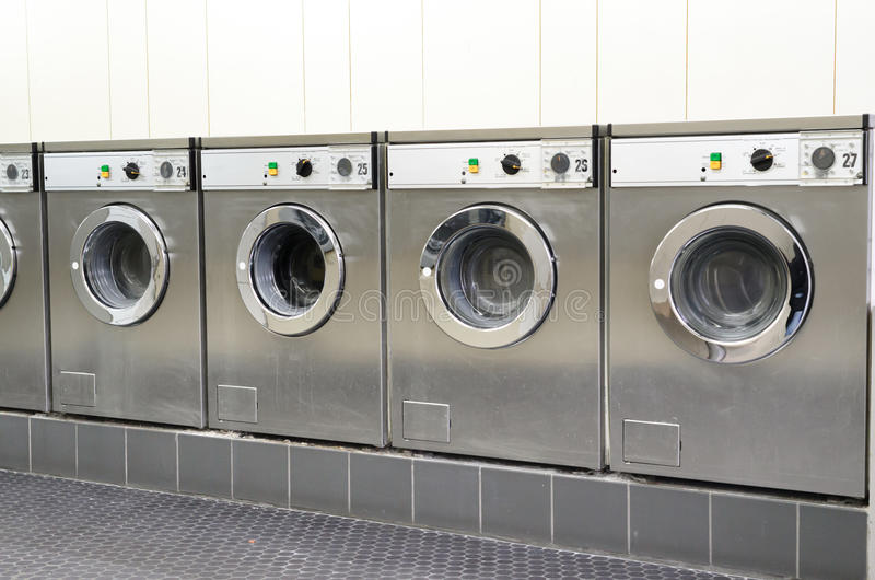 Download Laundromat coin laundry stock image. Image of domestic - 22592015