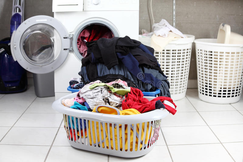 Laundry royalty free stock photo
