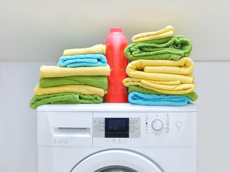 Download Laundry stock photo. Image of housework, blue, bathroom - 22724208