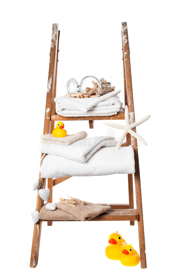 Download Laundry stock photo. Image of wooden, stepladder, background - 22772552
