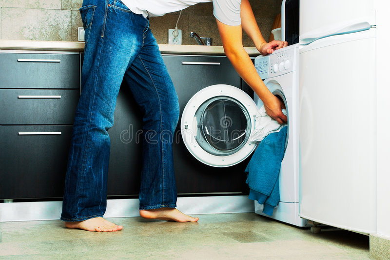 Download Laundry stock photo. Image of choice, jeans, clothes, tiled - 3686908