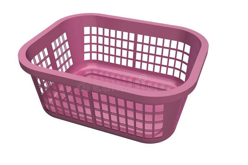 Download Laundry Basket stock illustration. Image of blues, housework - 21129553