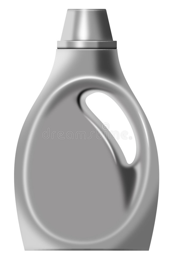 Download Laundry detergent bottle stock illustration. Image of cleaning - 5966619