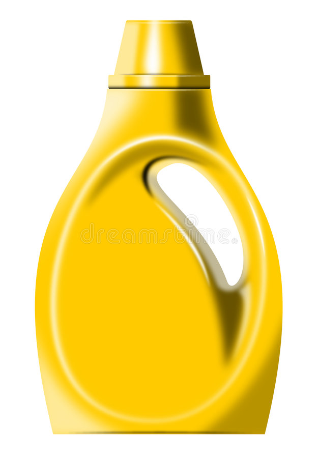Download Laundry detergent bottle stock illustration. Image of isolated - 5966658