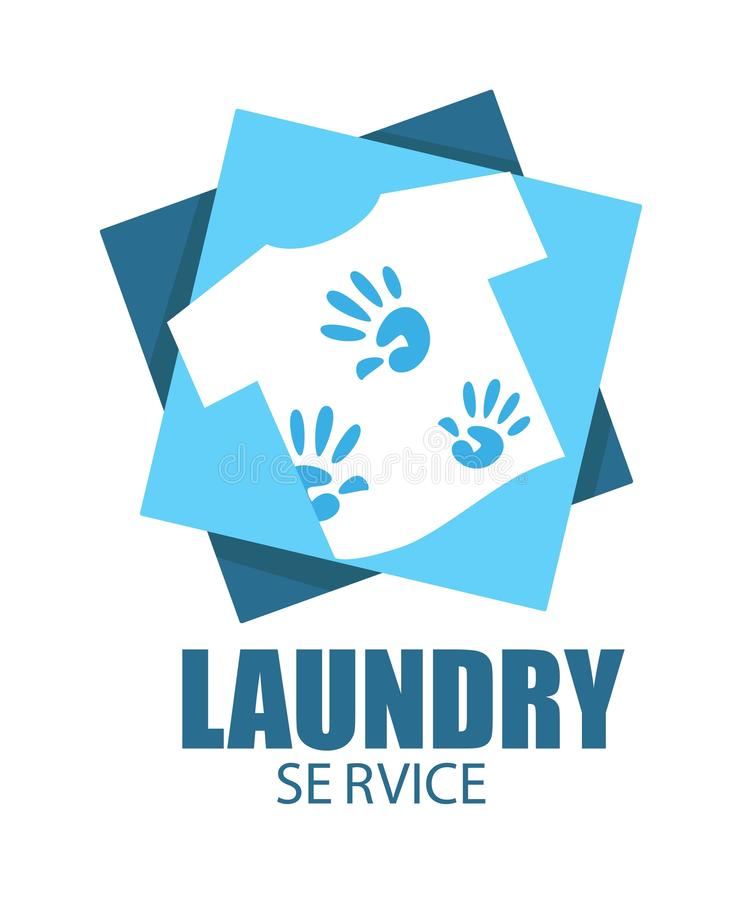 Laundry service dirty t-shirt with stains clothes washing. Dirty T-shirt with stains isolated icon laundry room clothes washing vector household chore or stock illustration