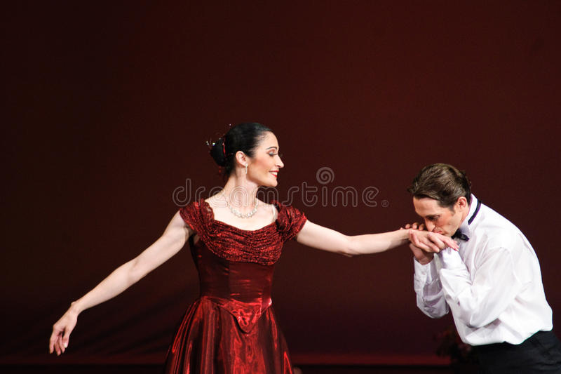 Download Laura Blica Toader And Vlad Toader Performing Editorial Photo - Image: 21483331