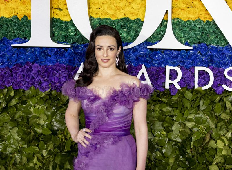 Laura Donnelly a Tony Awards 2019 immagine stock
