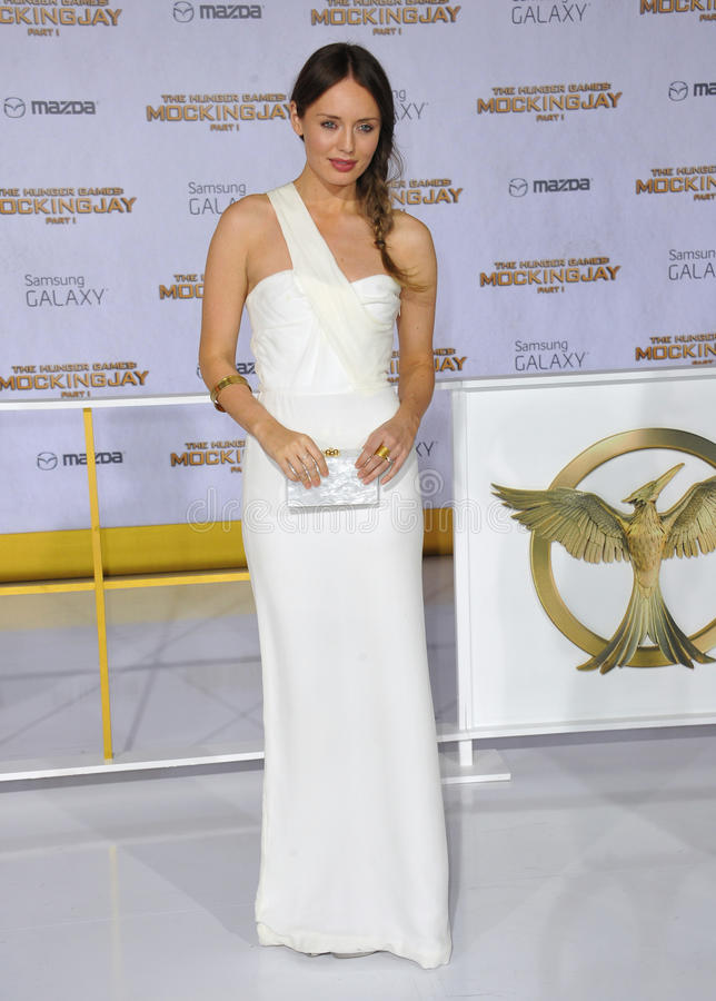 Laura Haddock The Hunger Games Mockingjay Part Premiere in