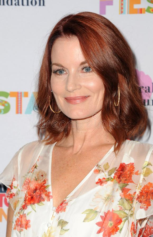 Laura Leighton. At the Farrah Fawcett Foundation`s Tex-Mex Fiesta held at the Wallis Annenberg Center in Beverly Hills, USA on September 6, 2019 stock photos
