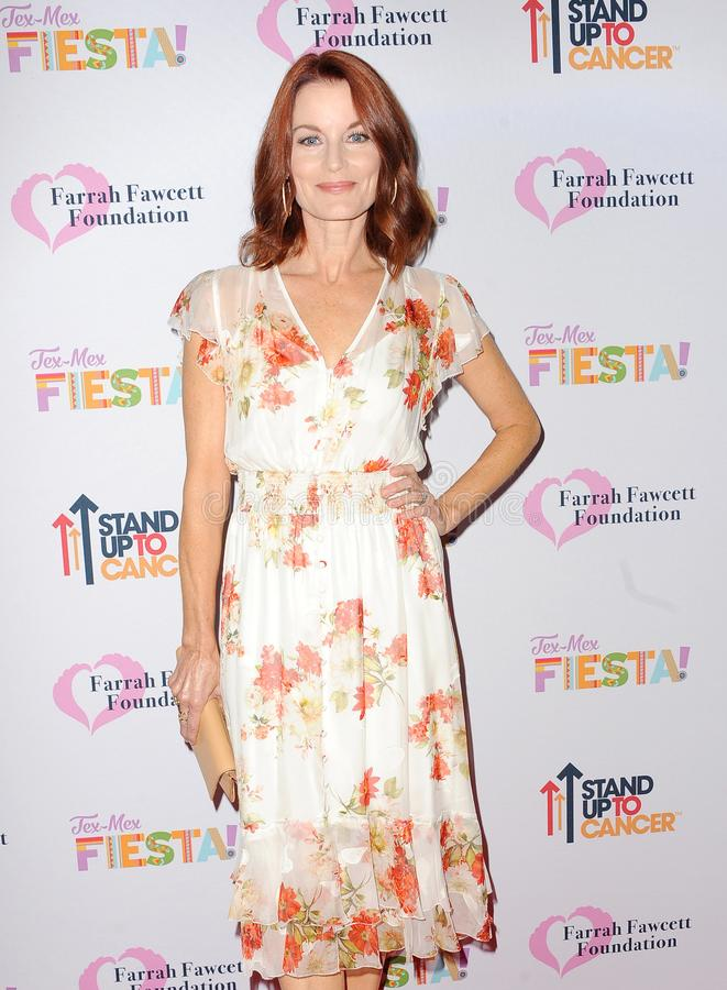 Laura Leighton. At the Farrah Fawcett Foundation`s Tex-Mex Fiesta held at the Wallis Annenberg Center in Beverly Hills, USA on September 6, 2019 royalty free stock photo