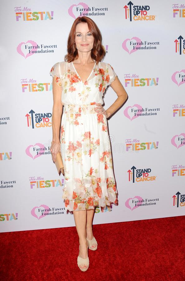 Laura Leighton. At the Farrah Fawcett Foundation`s Tex-Mex Fiesta held at the Wallis Annenberg Center in Beverly Hills, USA on September 6, 2019 royalty free stock images