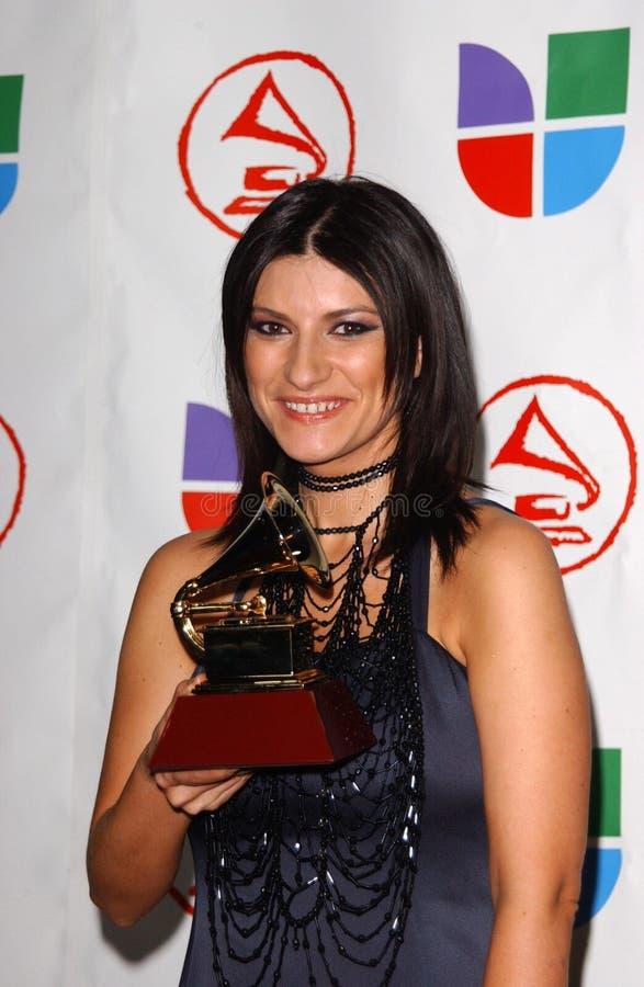 Laura Pausini royalty free stock image