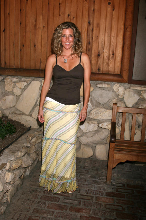 Laura Wright. Arriving at the annual General Hospital Fan Club Luncheon at the Sportsman's Lodge in Studio City, CA on July 12, 2008 stock photos