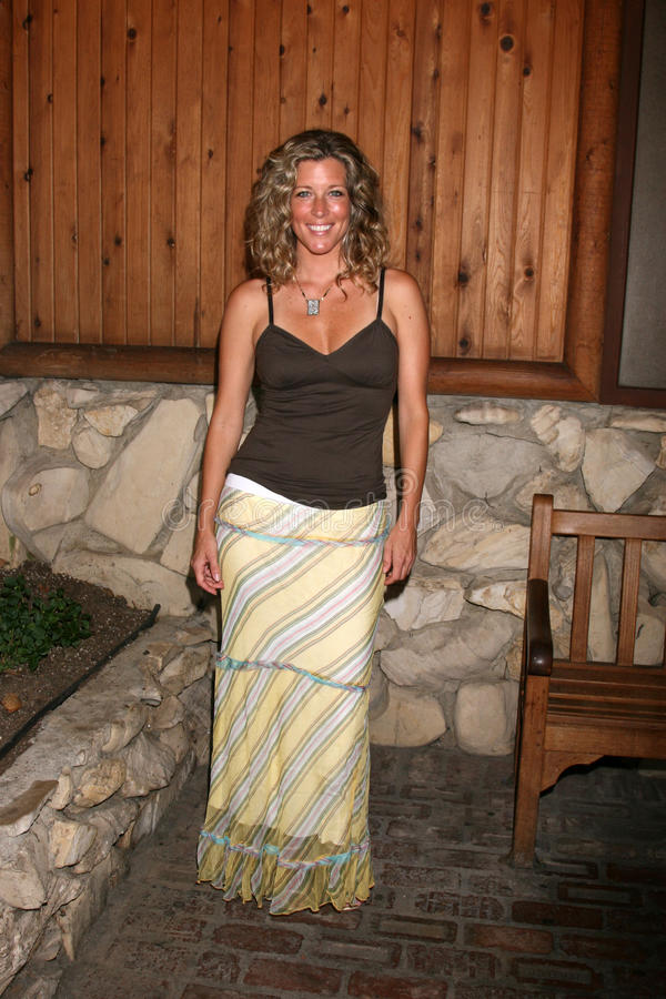 Laura Wright. Arriving at the annual General Hospital Fan Club Luncheon at the Sportsman's Lodge in Studio City, CA on July 12, 2008 royalty free stock photos