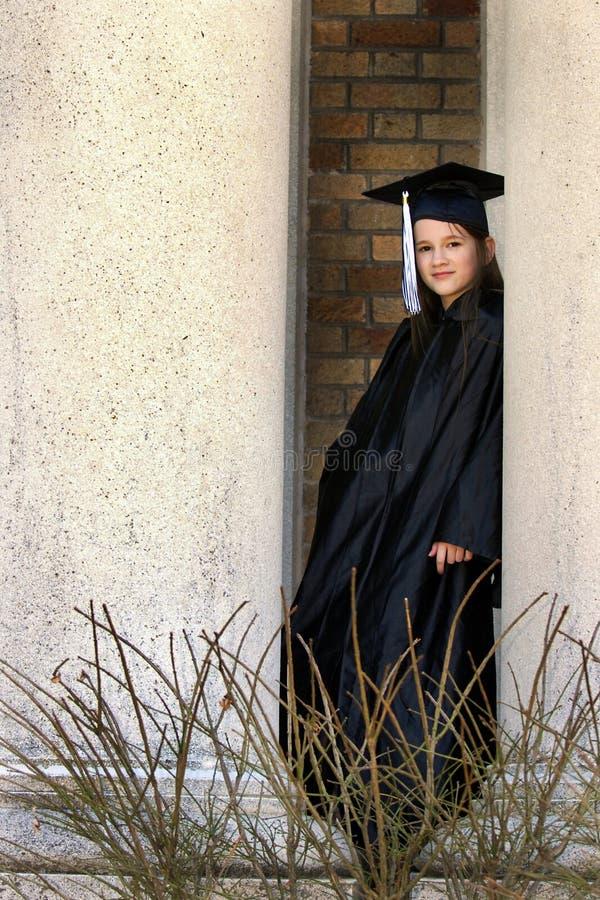 Laureato della scuola secondaria fotografie stock libere da diritti