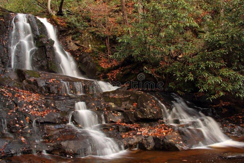 Laurel Falls foto de archivo