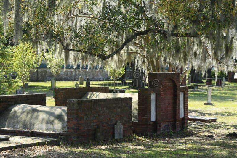 Laurel Grove Cemetery imagem de stock