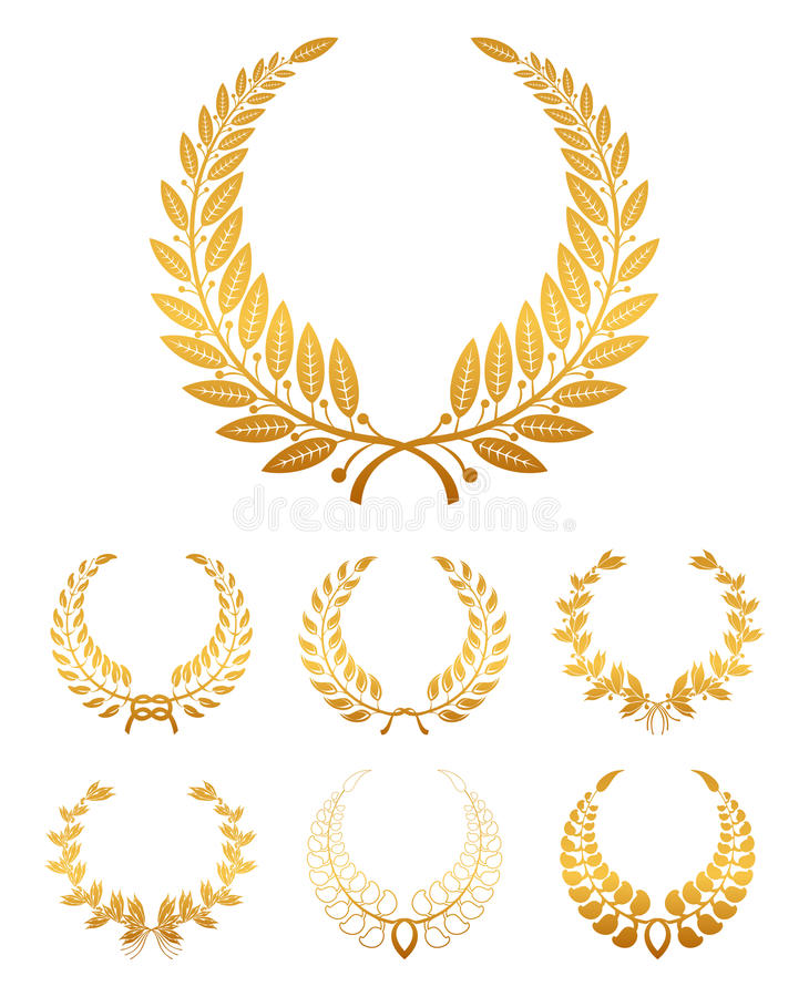 Download Laurel Wreath stock vector. Image of insignia, triumph - 13207819