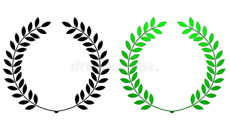Download Laurel wreath stock vector. Illustration of certificate - 19562304
